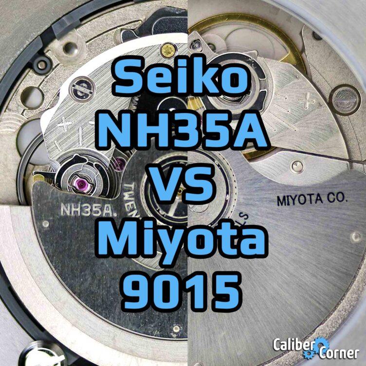 Seiko Caliber Nh35a Vs Miyota 9015