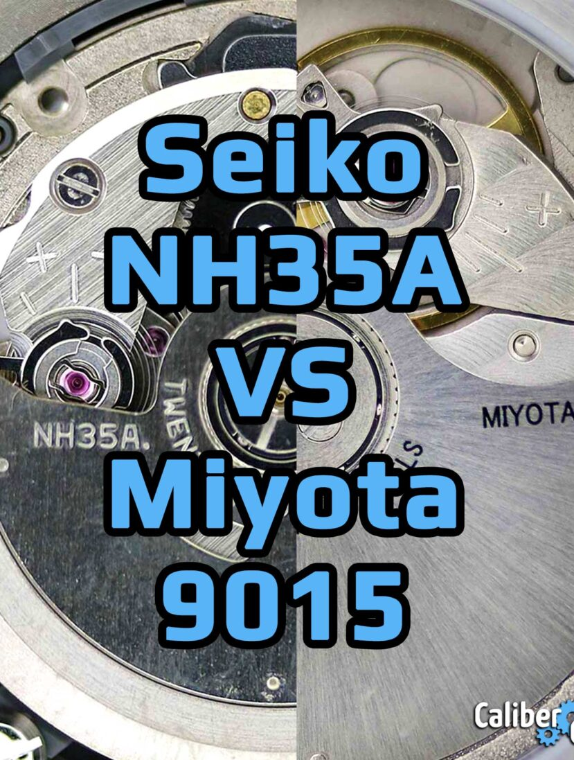 Seiko Caliber Nh35a Vs Miyota 9015