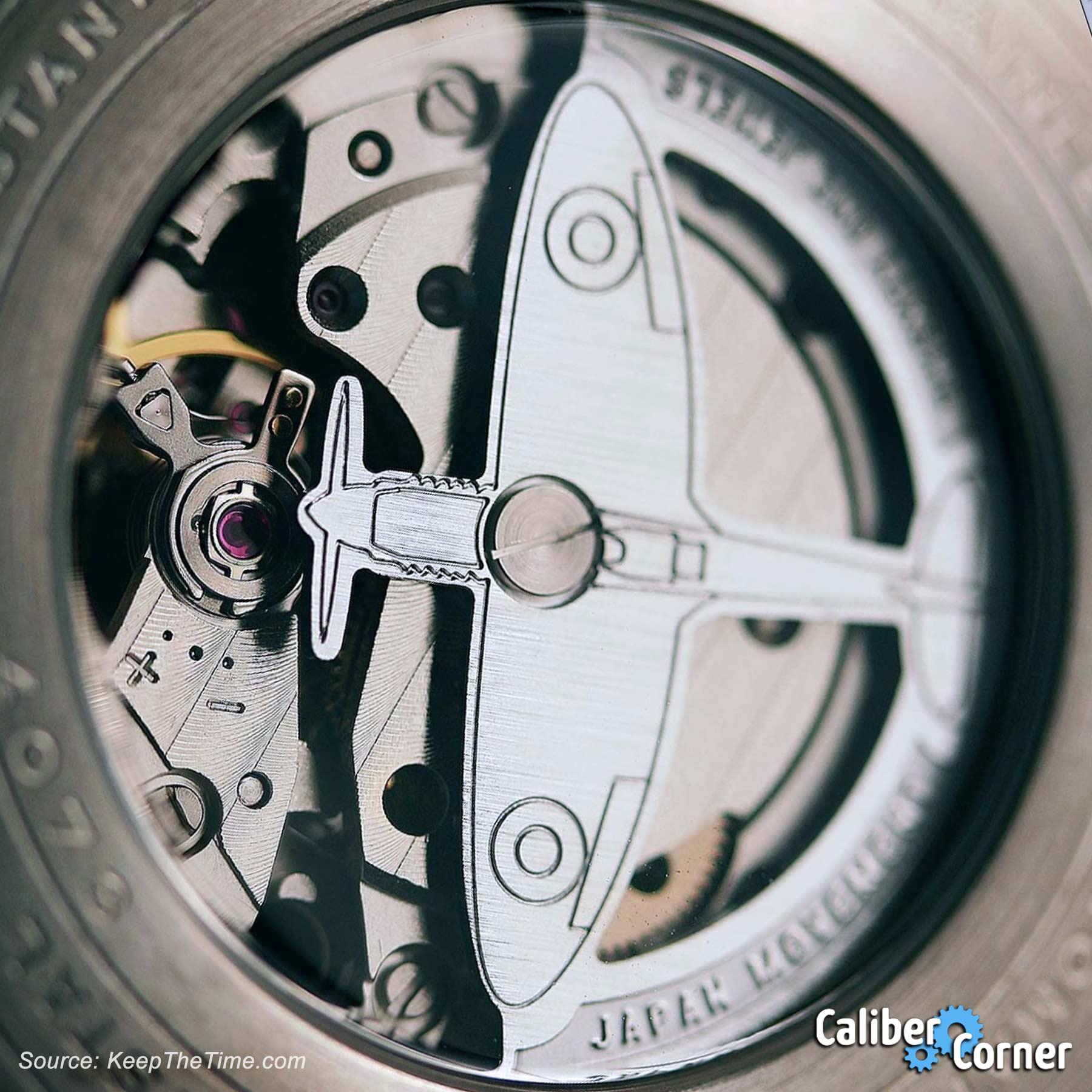 Avi 8 Watches Airplane Rotor Miyota 82