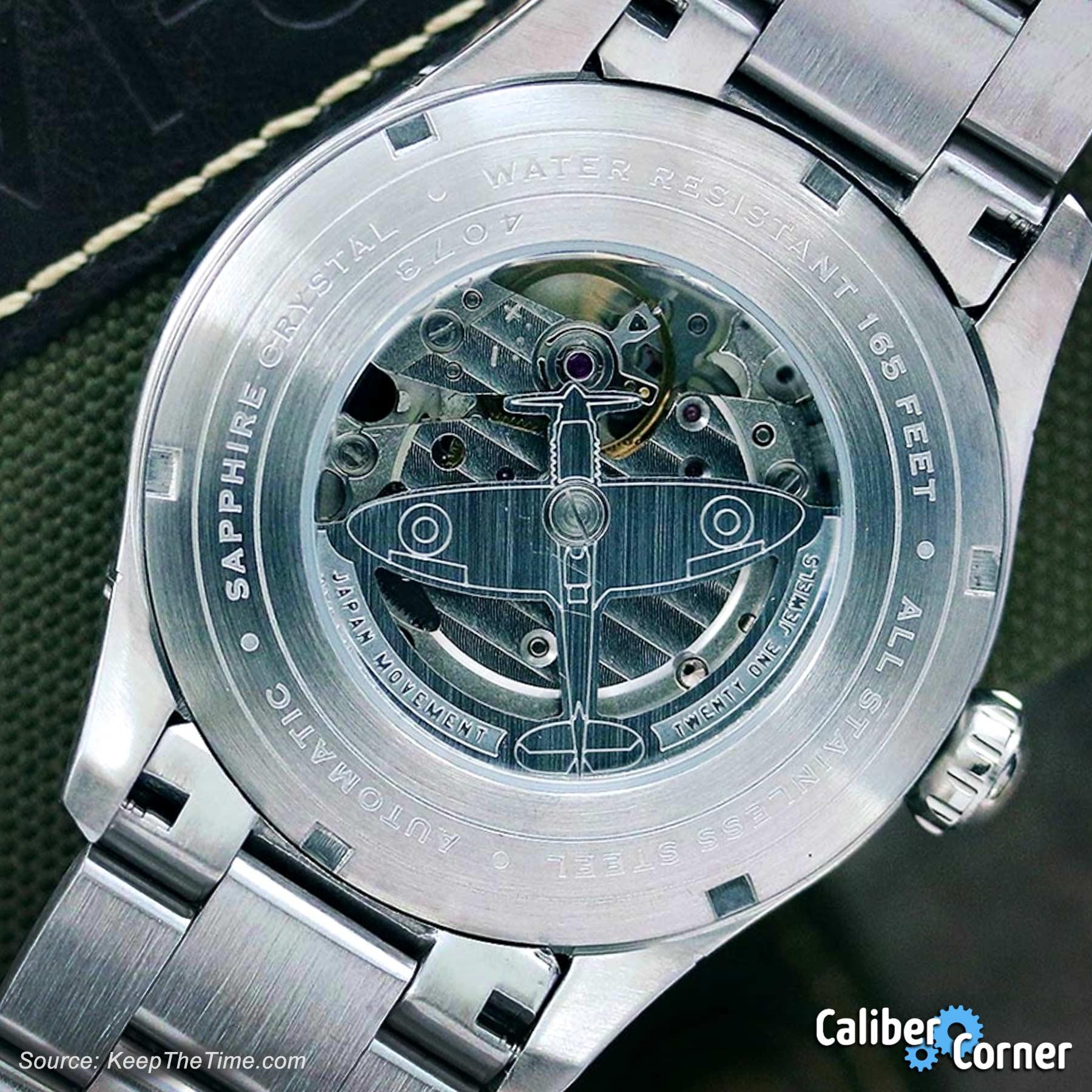 Avi 8 Watches Airplane Rotor Miyota 8218