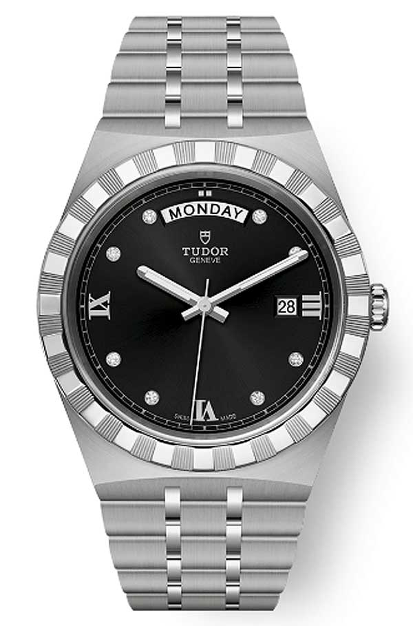 Tudor Royal M28600 0004 Black Diamonds T603