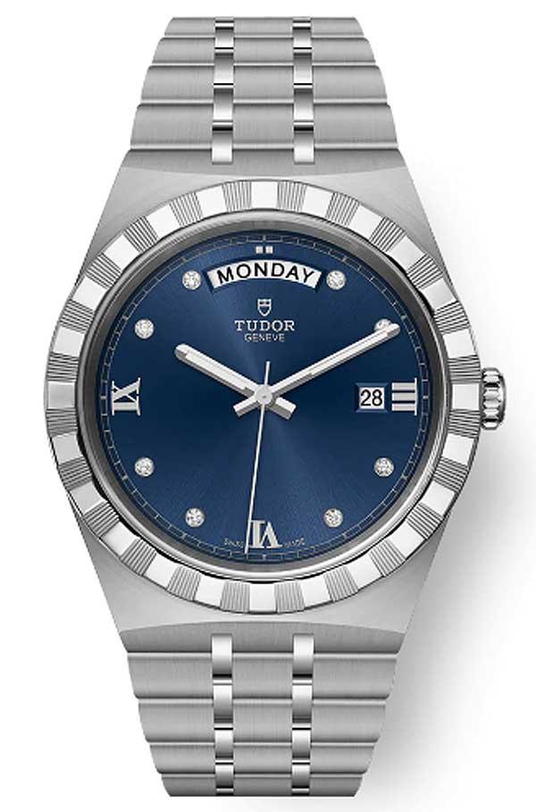 Tudor Royal M28600 0006 Blue Diamonds T603
