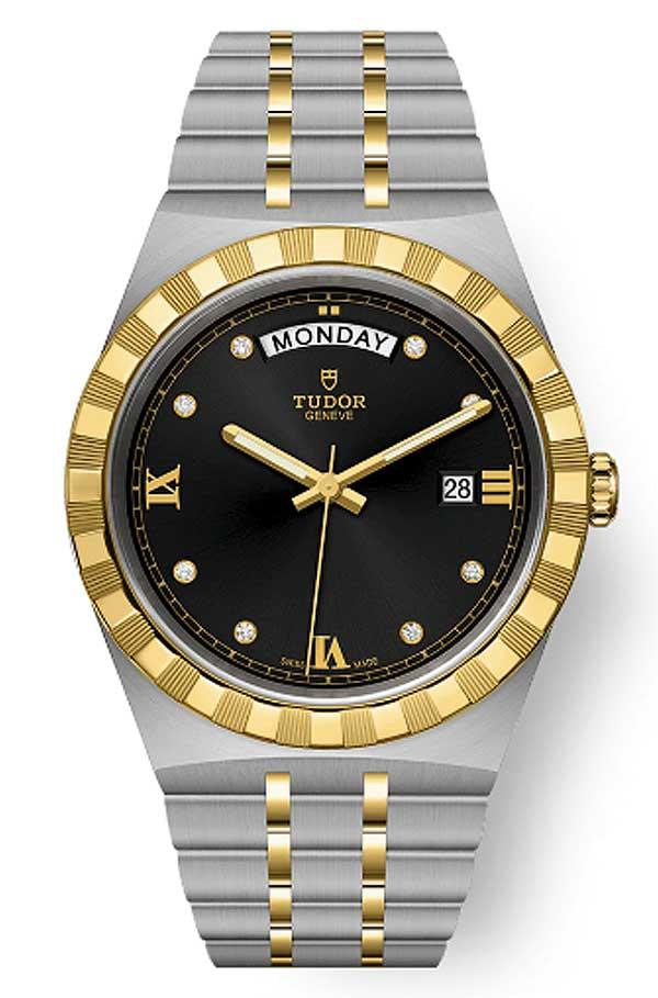 Tudor Royal M28603 0005 Black Diamonds T603