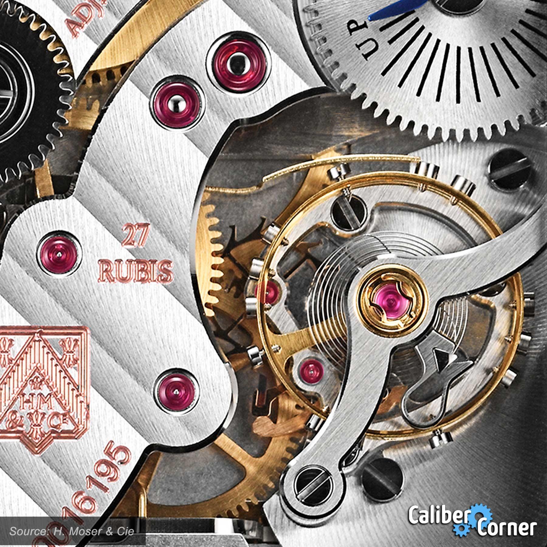 H Moser Cie Caliber Hmc 324 Balance Wheel