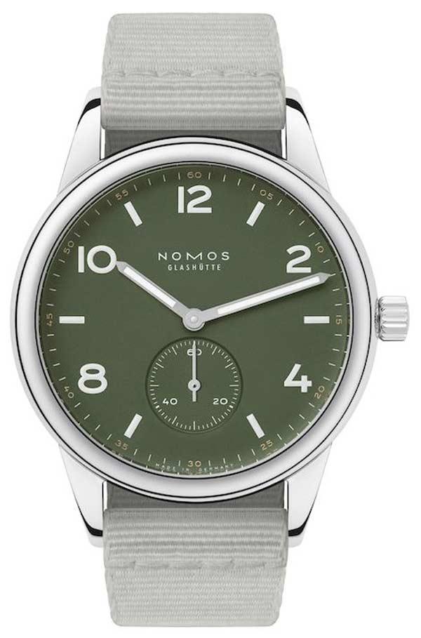 Nomos Club 175th Green Duw5001
