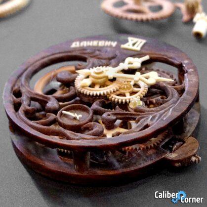 Valerii Danevych Wooden Watch Movements