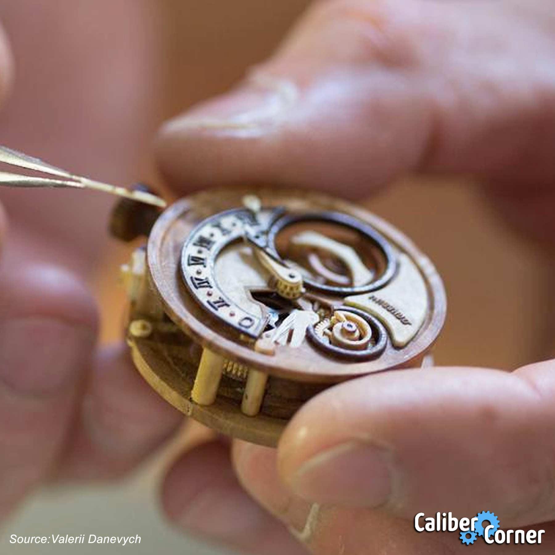 Valerii Danevych Wooden Watchmaker