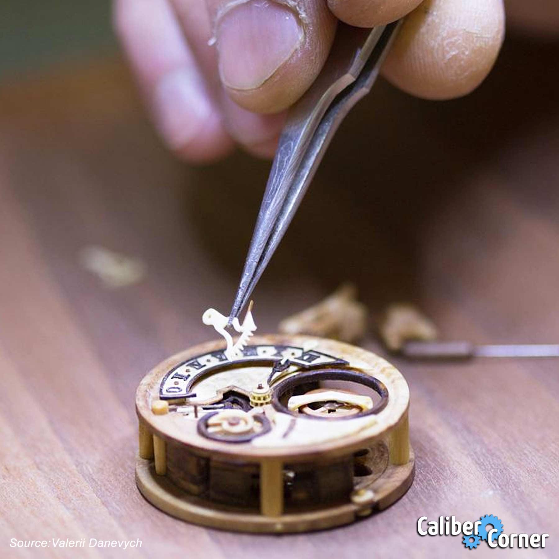 Valerii Danevych Wooden Watchmaking
