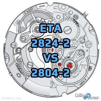 Eta 2824 2 Vs 2804 2 Movements