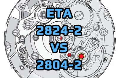 Eta 2824 2 Vs 2804 2 Movements