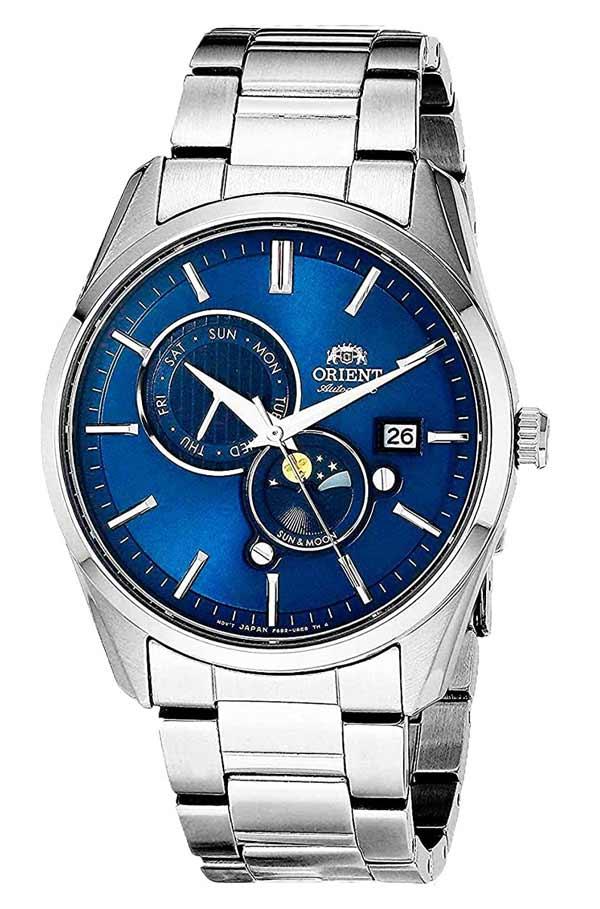 Orient Sun Moon Ra Ak0303l10a Blue V5 F6b24