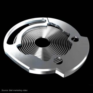 Ball Watch Springlock Hairspring Protection
