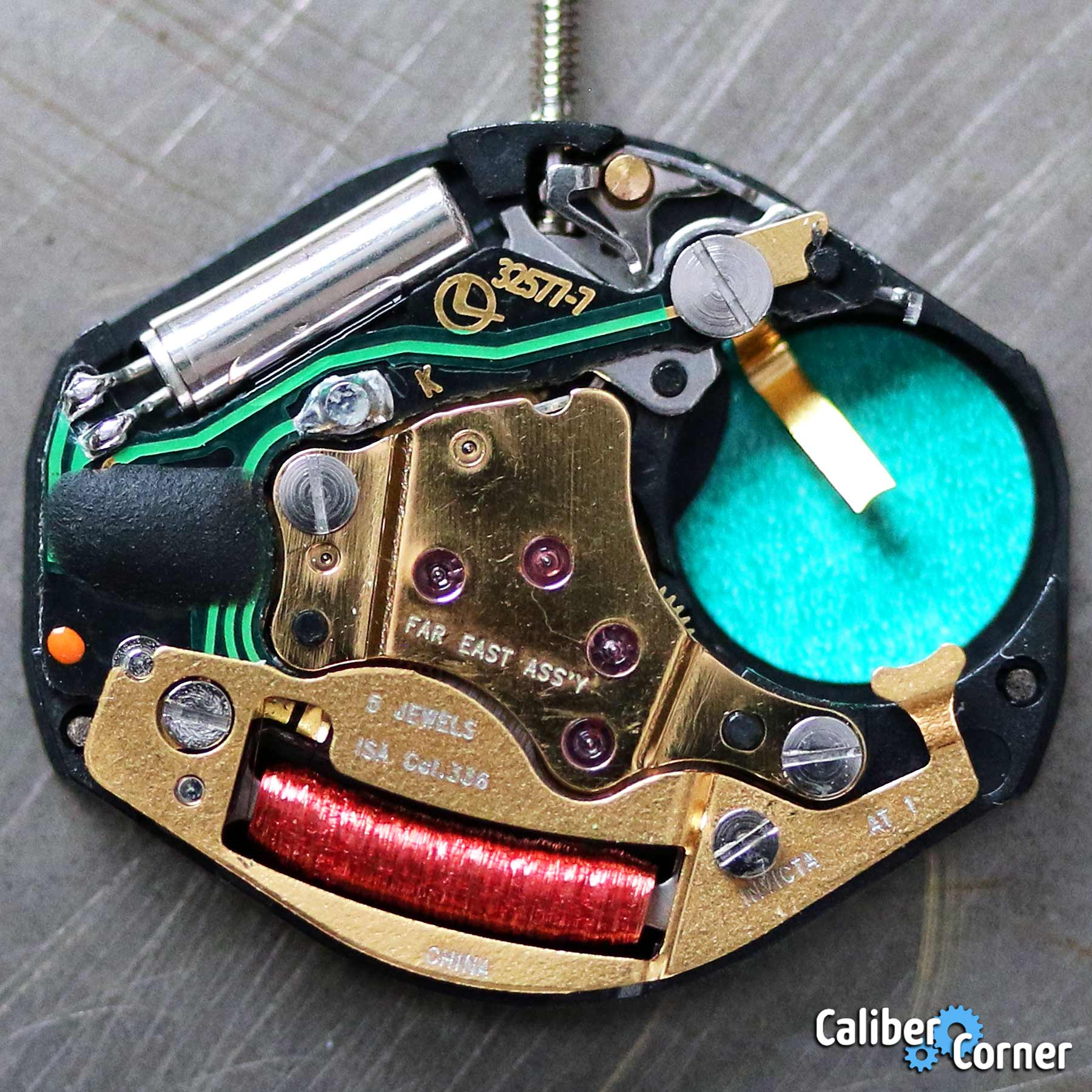 Isa Caliber 336 Battery