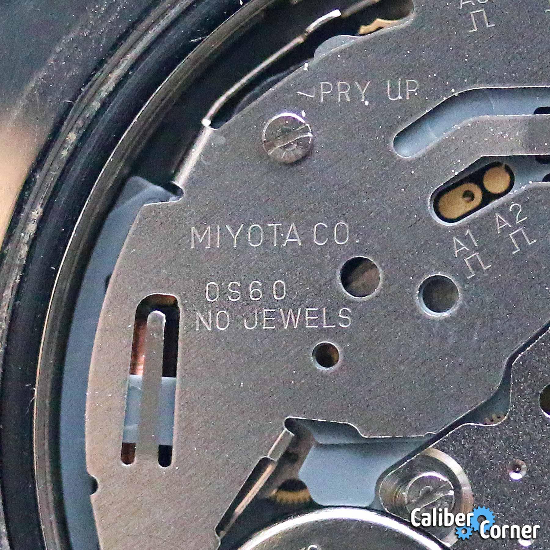 Miyota Caliber 0s60 0560