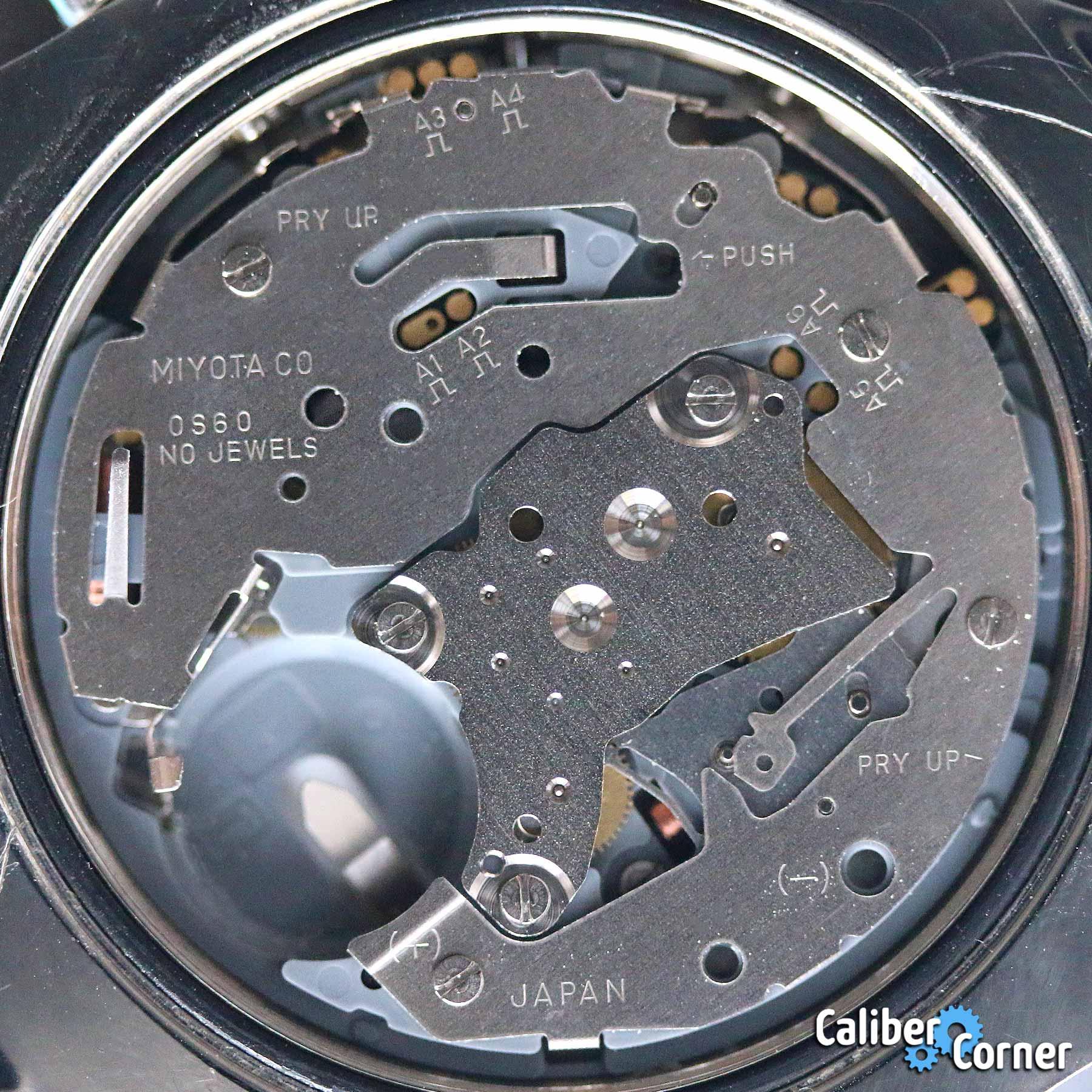 Miyota Caliber 0s60 Battery