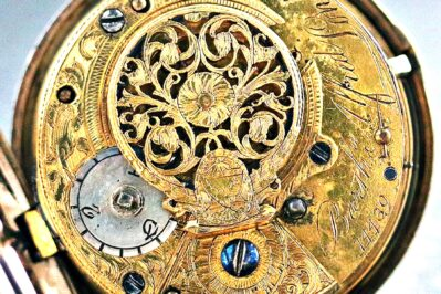Verge Fusee English Pocket Watch Example