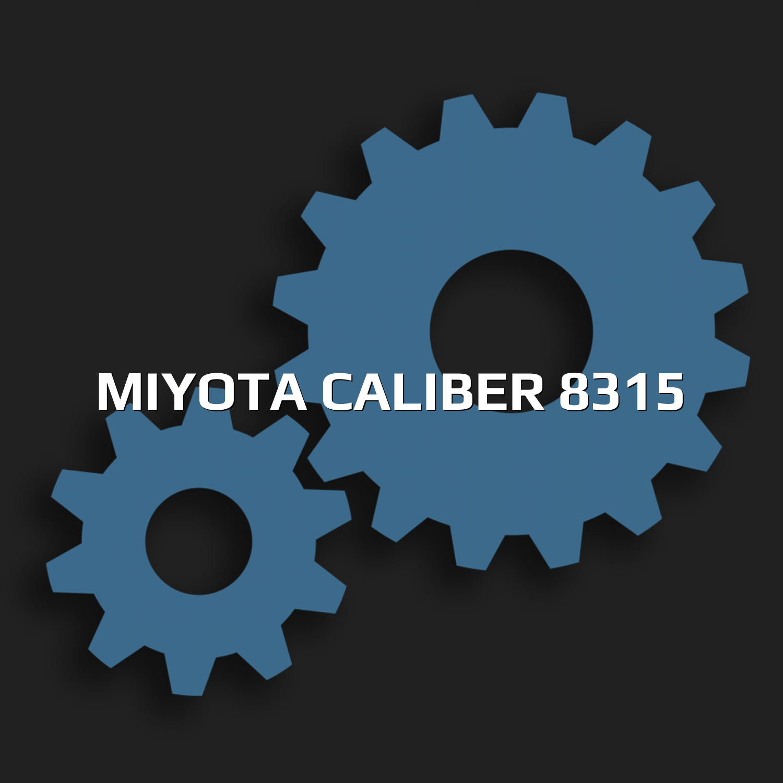 Miyota caliber 8315
